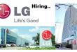LG Job vacancies